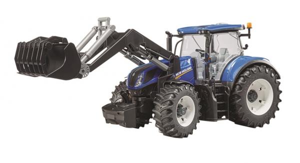 Bruder Traktor mit Frontlader New Holland T7.315