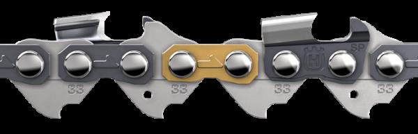 "Motorsägekette 64 Treibglieder / 15"" SP33G Halbmeißel PIXEL .325"" 1,3 mm"