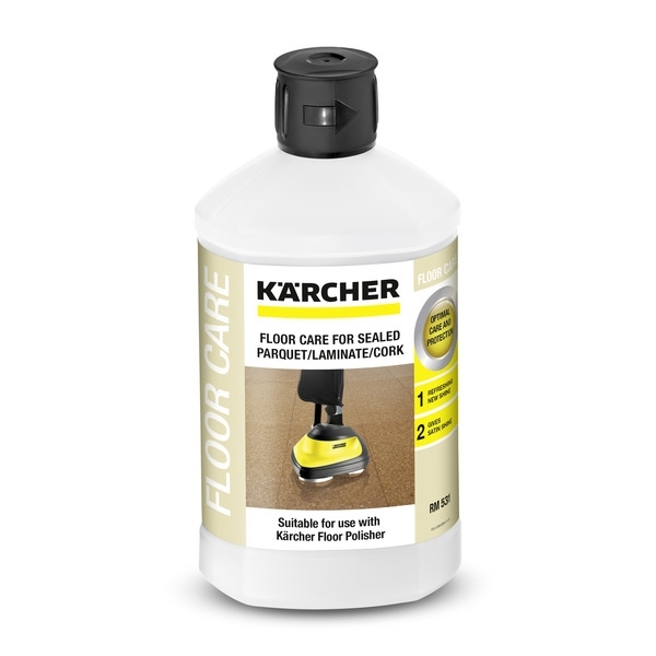 Kärcher Bodenpflege Parkett versiegelt/ Laminat und Korkböden RM 531 (1l)