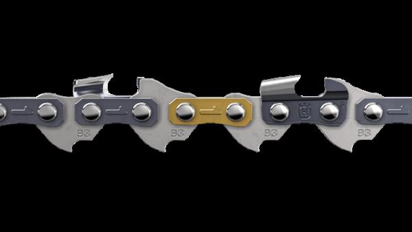 "Motorsägen-Kette 45DL/12"" X-CUT S93G Halbmeißel 3/8"" mini 1.3mm"