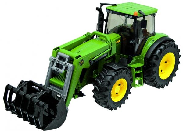 Bruder Traktor mit Frontlader John Deere 7930